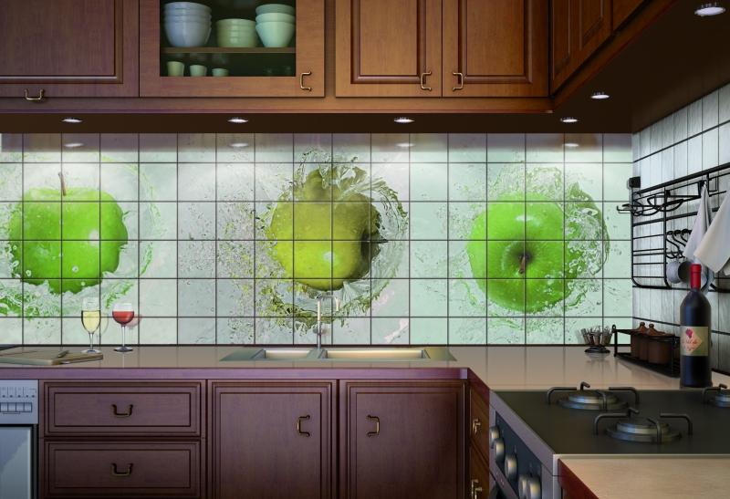 Настенная плитка для кухни. Характеристики и выбор