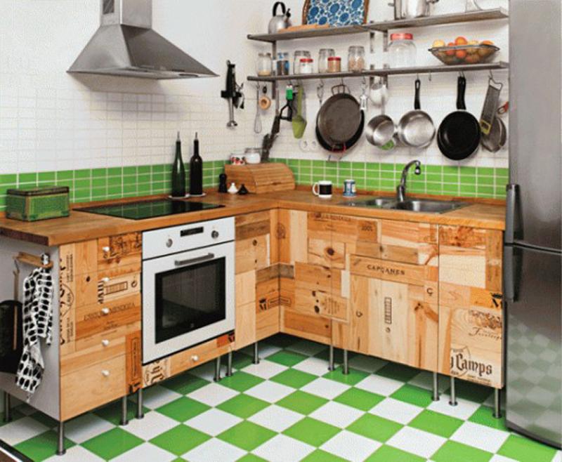 плитка напольная для кухни фото