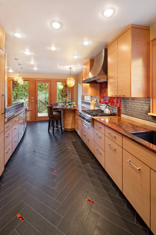 плитка для кухни напольная матовая