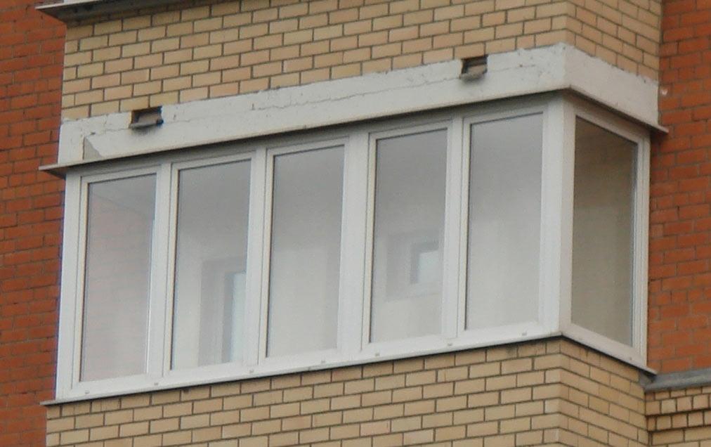 Остекление балкона в хрущевке (пятиэтажке) и сталинке, вариа.
