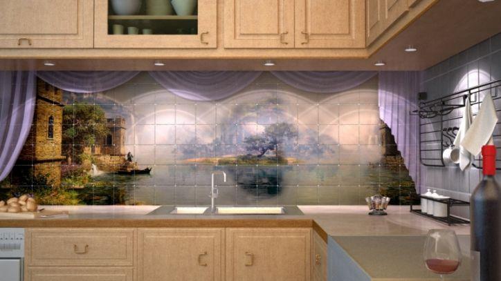 элитная плитка для кухни