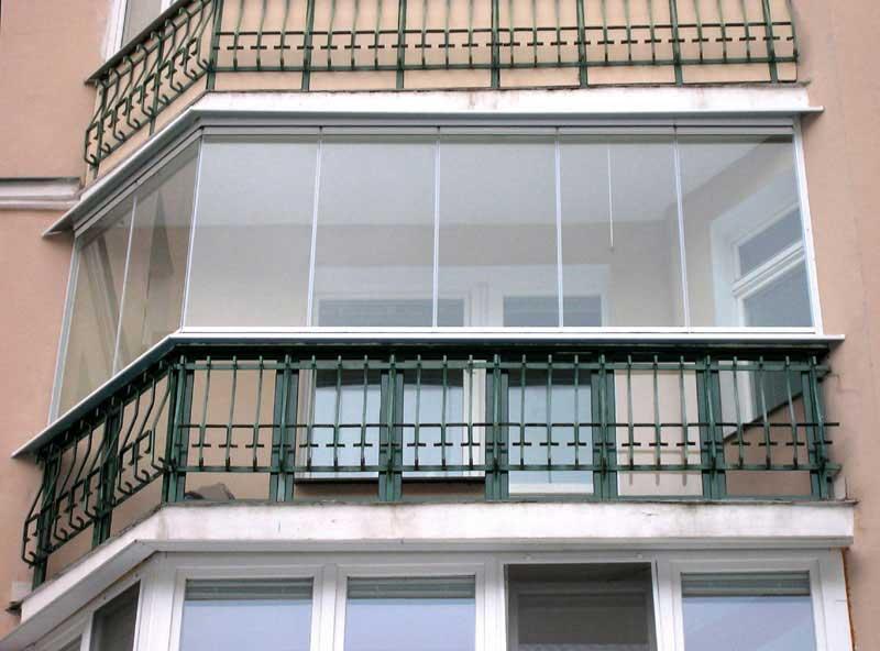 виды остекления лоджий и балконов