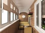 варианты остекления балконов