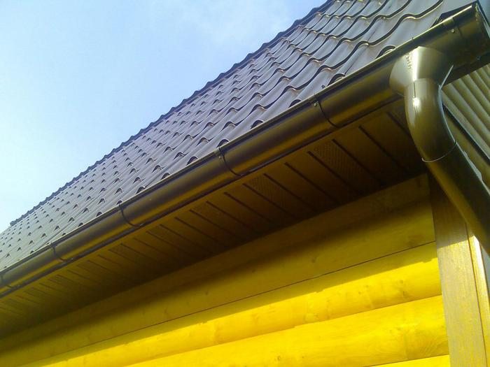 Технология подшивки карниза крыши и материалы