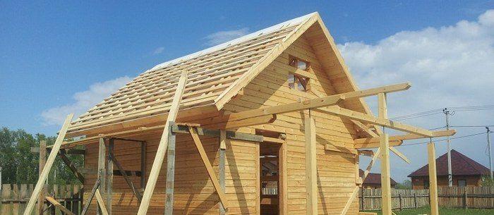 пример деревянной бани