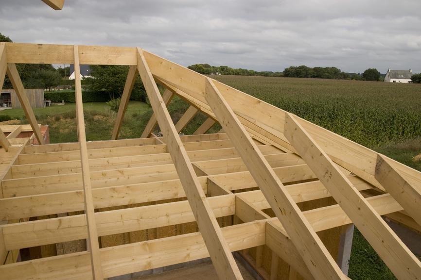 Устройство и монтаж вальмовой крыши