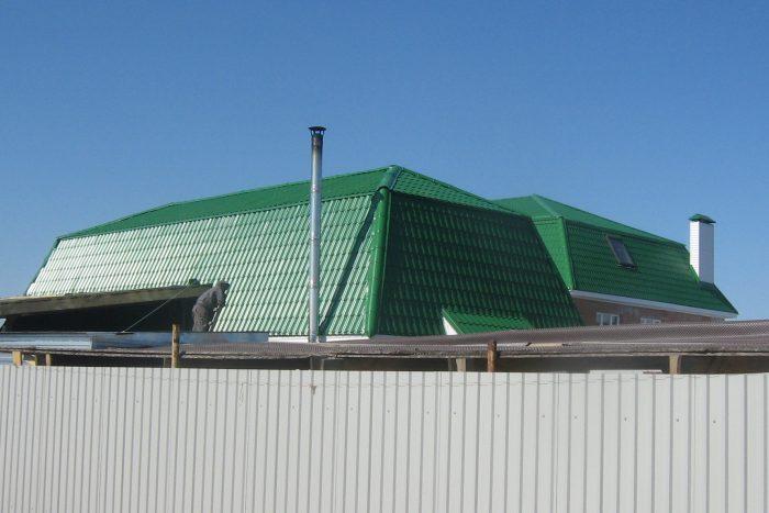 промышленная крыша