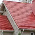 крыша из металлической черепицы