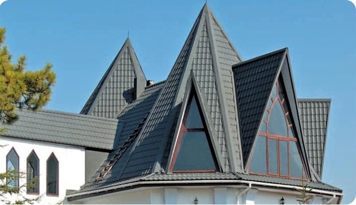 коническая крыша