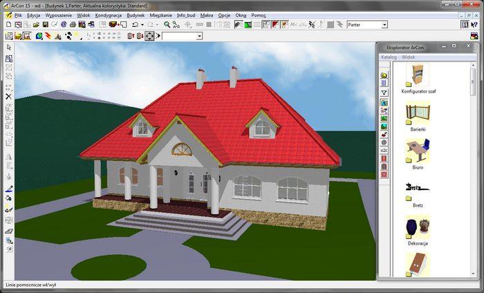 программа для проектирования крыши Аркон