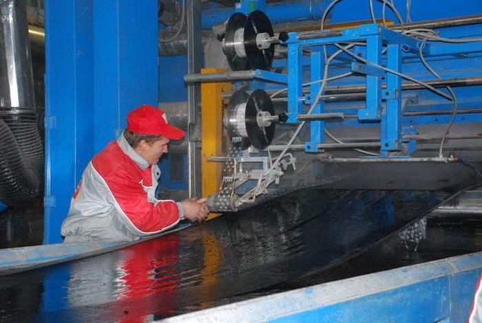 производство толя