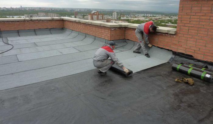 особенности ремонта плоской крыши