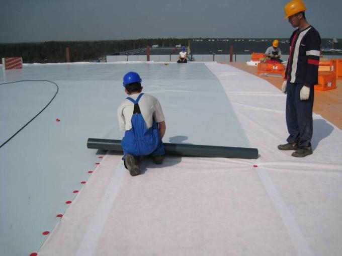 полимерная мембрана на крыше