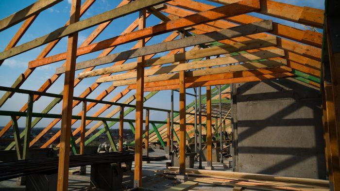 каркас крышных конструкций