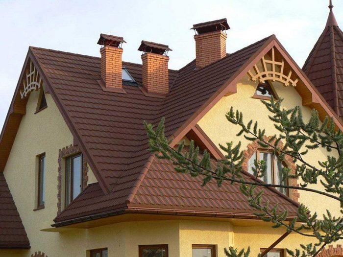 многощипцовая система крыши