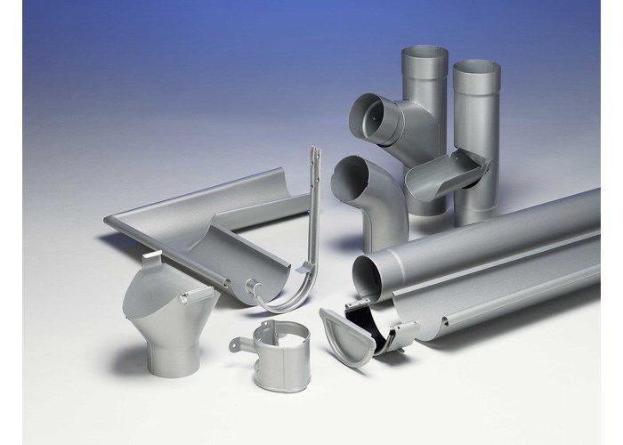 элементы водосточной металлической системы