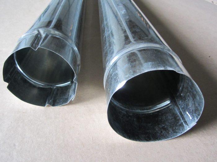 оцинкованные водосточные трубы