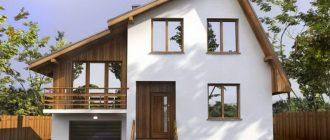 асимметричная крыша