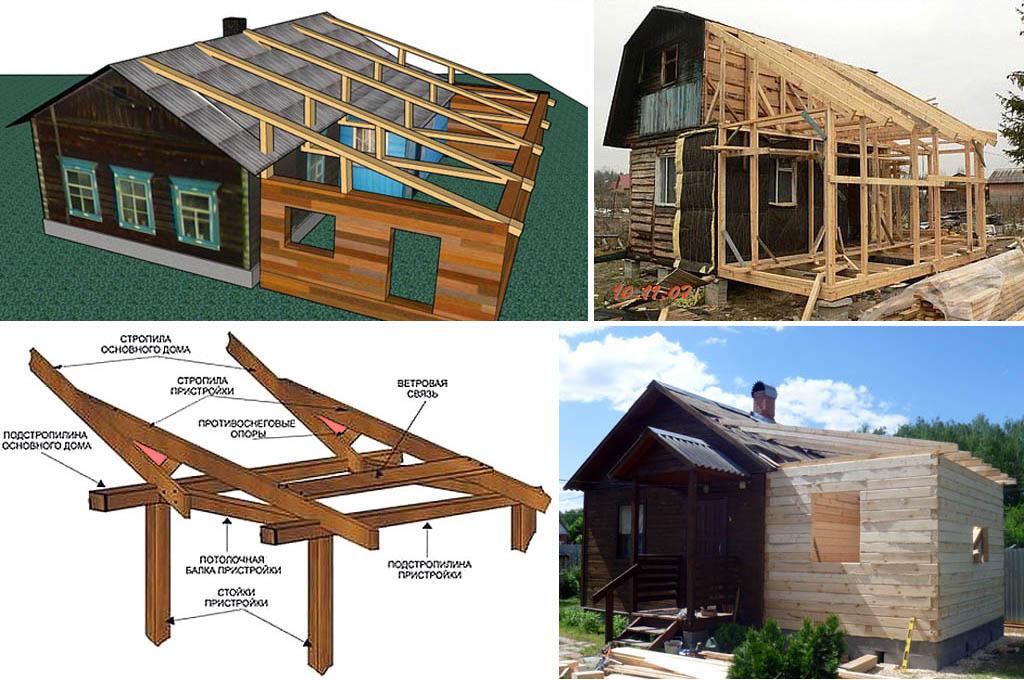 Как сделать крышу дома своими руками пристройки к дому
