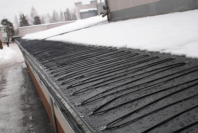 системы обогрева крыши