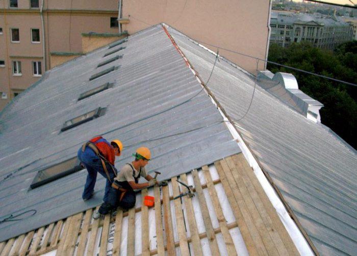 цена ремонта крыши