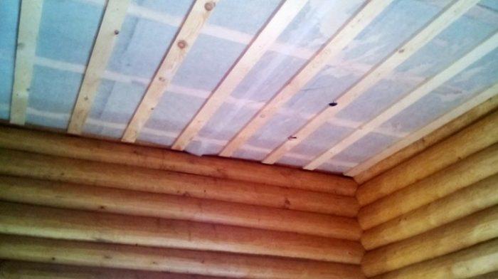 плохая пароизоляция потолочного перекрытия