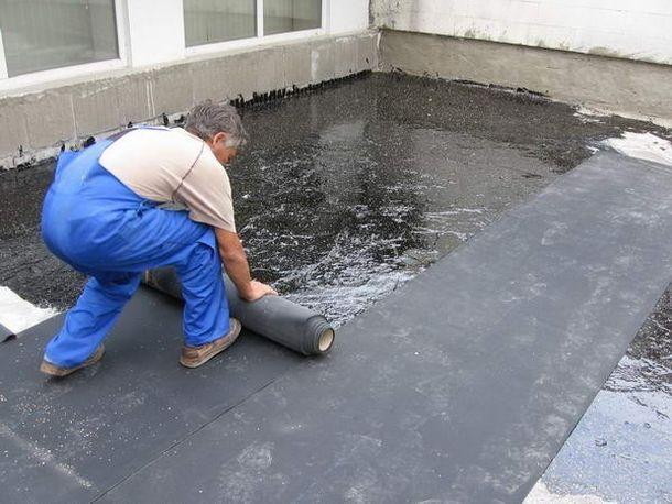 восстановление крыши гаража рубероидом