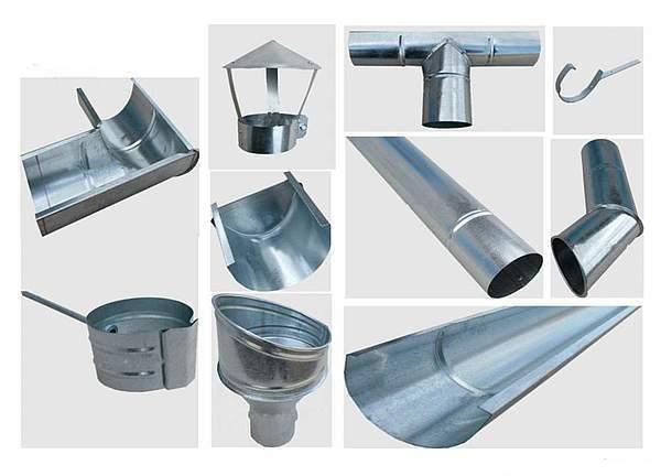 цинк-титан для водостоков