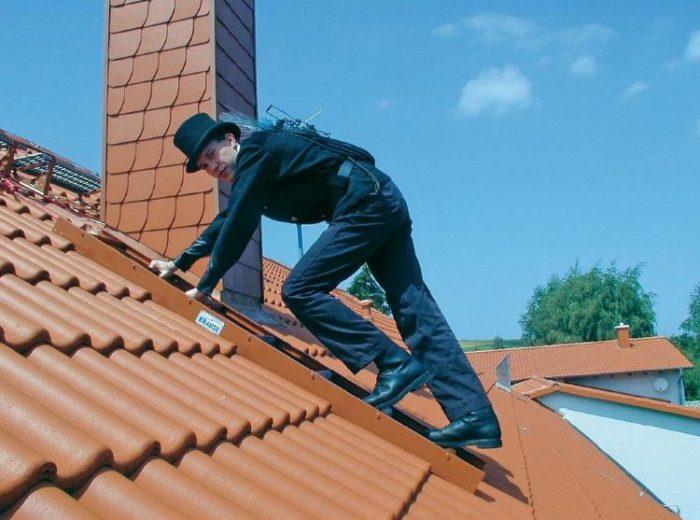 лестница для обследования крыши