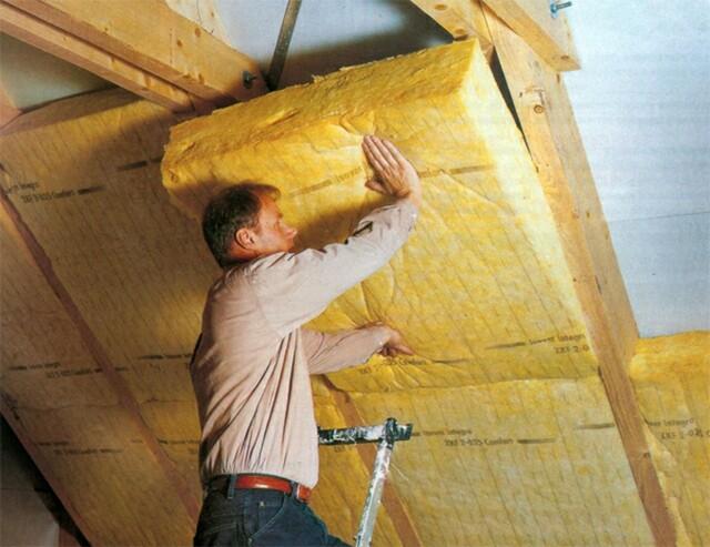 теплоизоляционные работы в деревянных домах