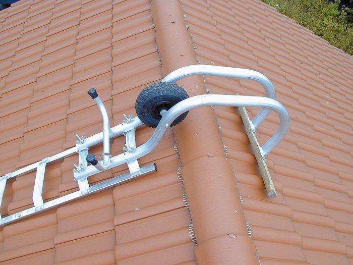 складная лестница для крыши