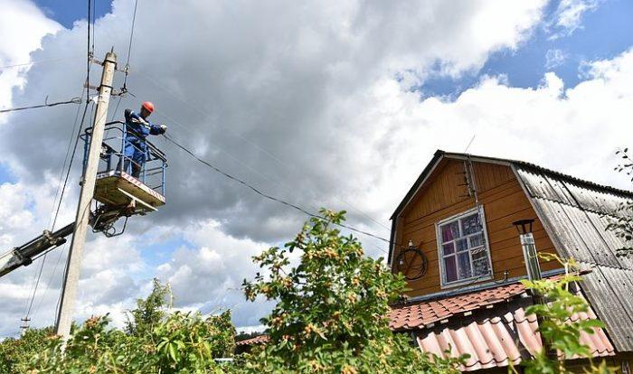 договор дачников с электросетями