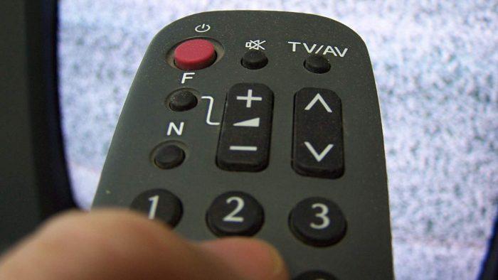 Отключение телевизора